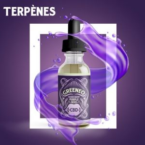E-liquide CBD Grand Daddy Purple 400 et 800mg