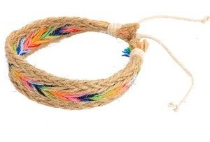 Bracelet en chanvre Indien